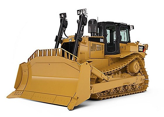 Caterpillar D8R Track-Type Tractor Parts Manual Download