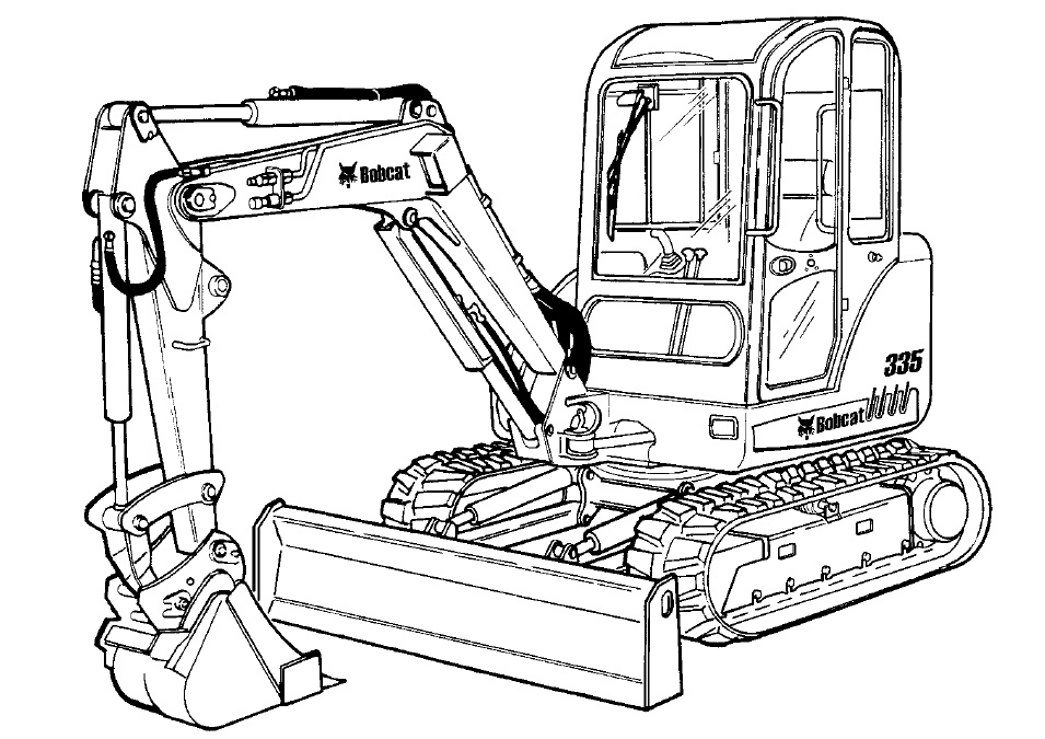 Bobcat Hydraulic Diagram