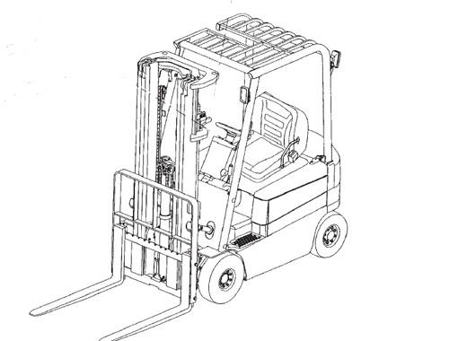 Komatsu Sk1026 5n Skid Steer Loader Service Manual