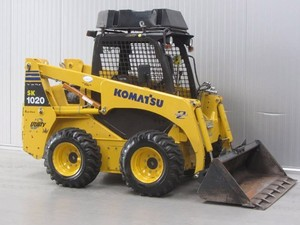 Komatsu SK1026-5 turbo Skid-Steer Loader Service Shop Manual(SN:37CTF50001 and UP)