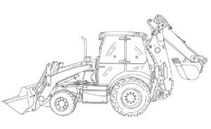 Case 480C LOADER BACKHOE Service Repair Manual