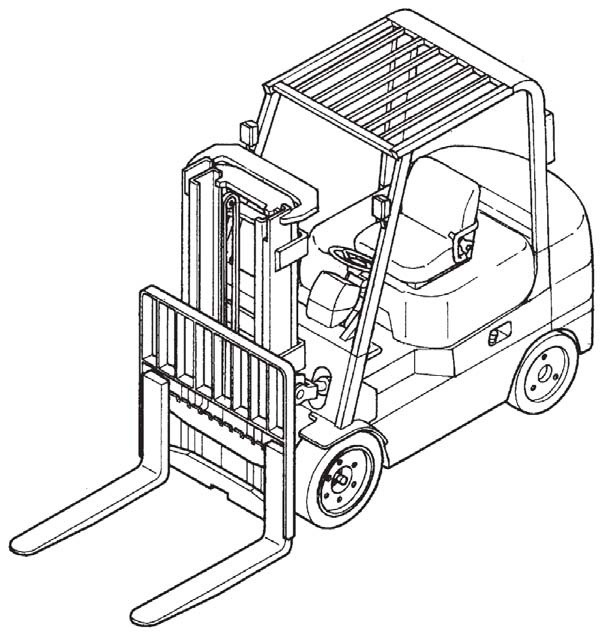 Caterpillar Cat GC35K - GC70K lift Trucks Service Repair Manual Download
