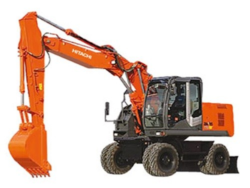 Hitachi Zaxis 210W-3 220W-3 Hydraulic Excavator Service Repair Manual Download