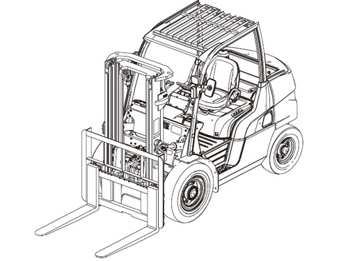 Dp70 Wiring Diagram Caterpillar Forklift Daewoo Forklift Wiring