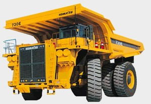 Komatsu 730E Trolley Dump Truck Service Shop Manual(A30392 & A30393)