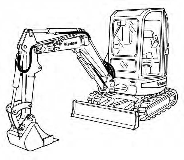 Bobcat 442 Compact Excavator Service Repair Manual Dow