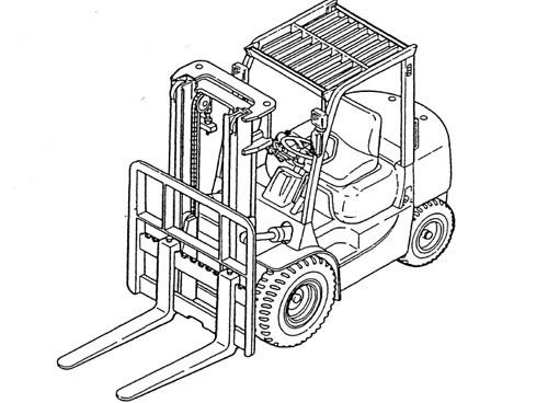 Caterpillar Cat GP15N - GP35N DP15N - DP35N lift Trucks Service Repair Manual Download