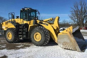 Komatsu WA500-7 Wheel Loader Service Shop Manual(SN:10001 and up)