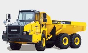 Komatsu HM300-2 Articulated Dump Truck Service Shop Manual(2001 and up)