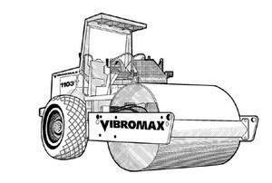 Vibromax 1103 Single Drum Roller Service Repair Manual Download
