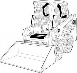 Bobcat S100 Skid-Steer Loader Service Repair Manual Download(S/N AB6411001 - AB6419999)
