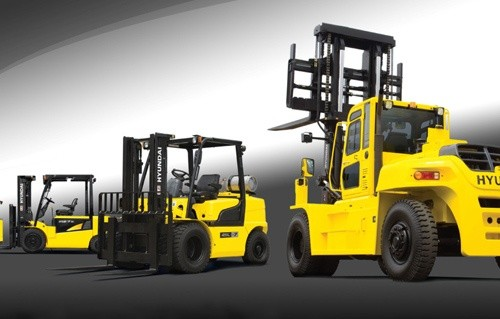 Hyundai Forklift Truck HDF50/70-3 Service Repair Manual Download