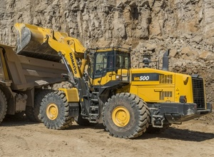 Komatsu WA500-7 Wheel Loaders Service Shop Manual(SN:10001 and up)