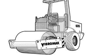 Vibromax 405 605 606 Single Drum Roller Service Repair Manual Download
