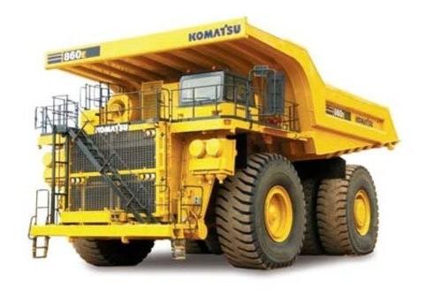 Komatsu 860E-1K Dump Truck Service Shop Manual(A30031 & UP)