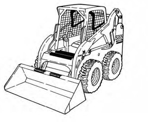 Bobcat S205 Skid-Steer Loader Service Repair Manual Download(S/N 530511001 - 530559999...)