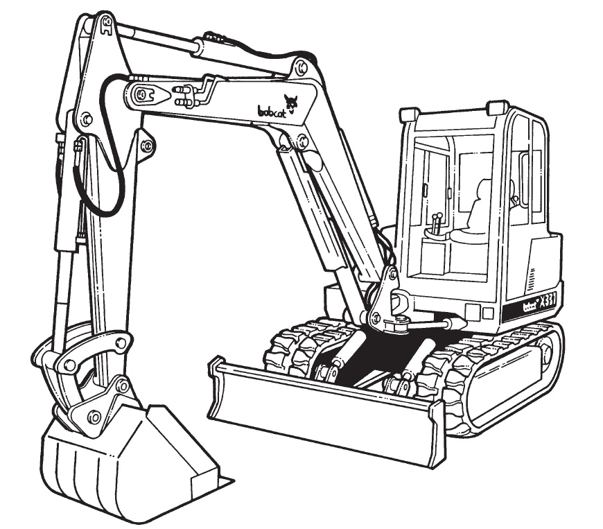 Bobcat 337 341 G Series Pact Excavator Service Repair Manual Downloadsn 234611001: Bobcat Ct120 Wiring Diagram At Teydeco.co