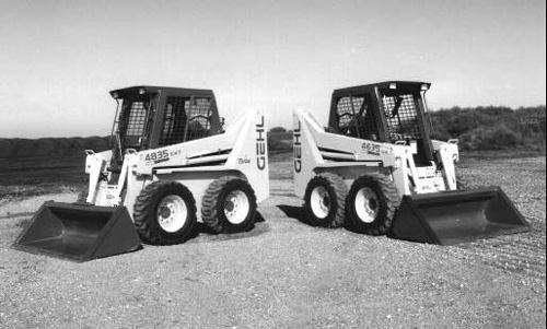 gehl sl46 4840 and sl56 6640 skid steer loaders servic rh sellfy com Antique Gehl Skid Steer Gehl Skid Steer Forks