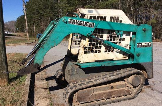 takeuchi tl26 tl126 crawler loaders service repair w rh sellfy com Takeuchi TL250 Specs Takeuchi TL26 Motor