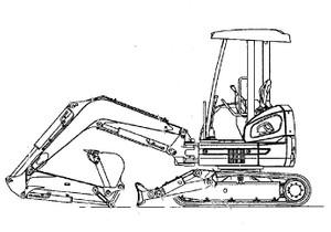 Fiat Kobelco E30SR E35SR EVOLUTION Exavator Service Repair Workshop Manual Download