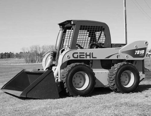 gehl sl7810e skid steer loaders service repair manual rh sellfy com gehl skid steer owners manual gehl skid steer 4835 sxt service manual