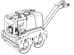 JCB Vibromax VMD70 / VMD100 Double Drum Walk Behind Roller Service Repair Manual Download