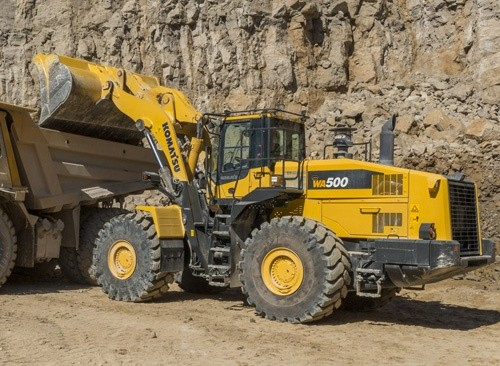 Komatsu WA500-6 Wheel Loaders Service Shop Manual(SN:55001 and up)