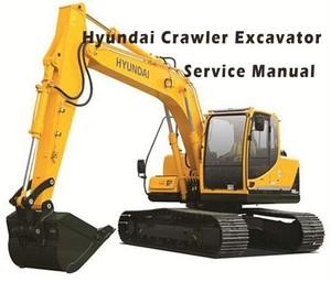 Hyundai R180LC-7 Crawler Excavator Service Repair Manual Download