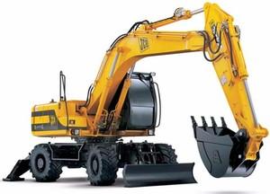 JCB JS175W Auto Wheeled Excavator Service Repair Manual Download