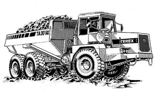 terex ta30 articulated dumptruck service repair manual rh sellfy com Terex Crane Service Terex Crane Service