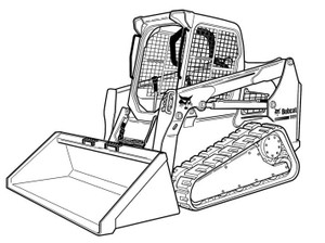Bobcat T590 Compact Track Loader Service Manual(S/N A3NR11001 & Above A3NS11001 & Above)