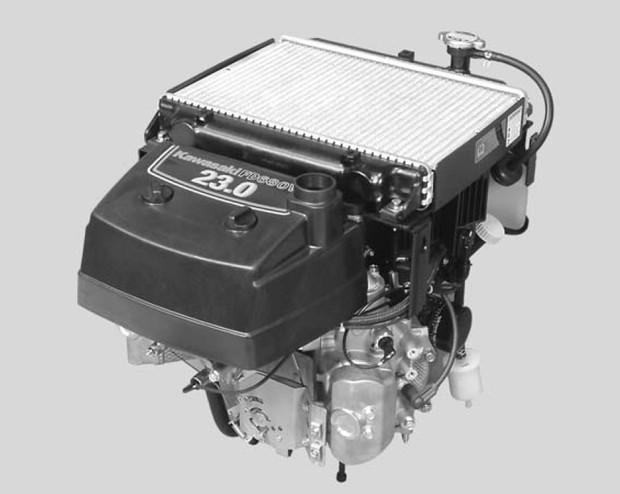Kawasaki FD680V FD731V 4-Stroke Liquid-cooled V-twin Gasoline Engine Service Repair Manual Download