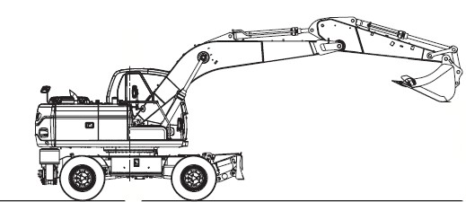 Doosan Wheel Excavator DX140W/DX160W Service Repair Sh