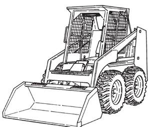 Bobcat 542B Skid-Steer Loader Service Repair Manual Download