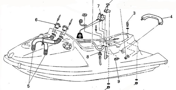 yamaha watercraft service manual