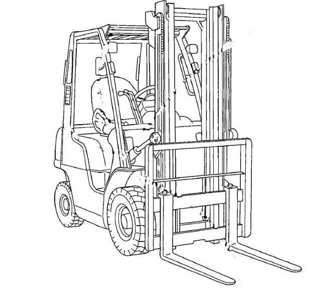 Nissan Forklift Internal Combustion L01 / L02 Service Repair Manual Download