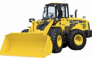 Komatsu WA270-7 Wheel Loader Service Shop Manual(SN:A27001 and up)