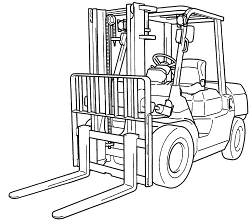 toyota forklift 7fgu 7fdu35 80 7fgcu35 70 series servi Forklift Parts Diagram