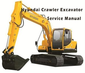 Hyundai R800LC-7 Crawler Excavator Service Repair Manual Download