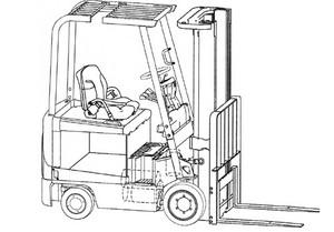 Mitsubishi FBC15N - 30N FBC25LN FBC30LN Forklift Trucks Service Repair Manual Download