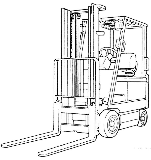 Toyota Forklift 5FBC13-30 Series Service Repair Manual