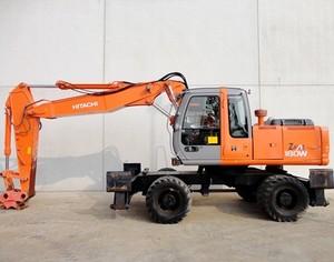 Hitachi Zaxis 180W Wheeled Excavator Service Repair Manual Download