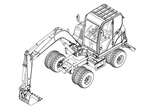 Bobcat E55W Compact Excavator Service Repair Manual Download(S/N AEFB11001 & Above)