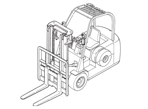 Caterpillar Cat EP16NT - EP20NT lift Trucks Service Repair Manual Download