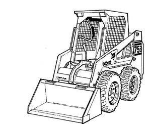 Bobcat 753 G Series Loader Service Repair Manual Download