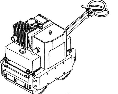 Vibromax 70b Walk Behind Roller Service Repair Manual
