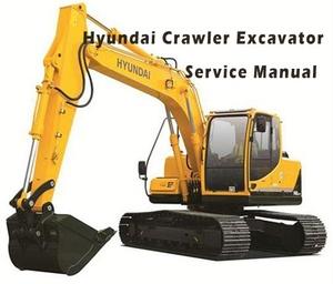 Hyundai Crawler Excavator R60CR-9 Service Repair Manual Download
