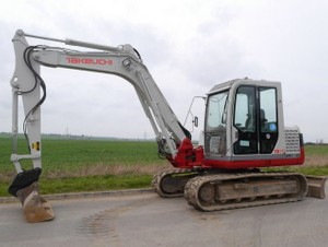 Takeuchi TB180FR Tier4 Compact Excavator Service Repair Workshop Manual (S/N:17840001 & Above)