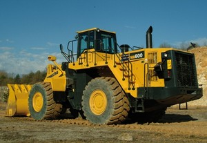Komatsu WA600-6 Wheel Loaders Service Shop Manual(SN:60001 and up)