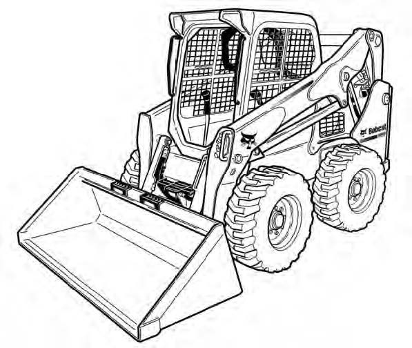 Bobcat S530 Skid-Steer Loader Service Repair Manual Do